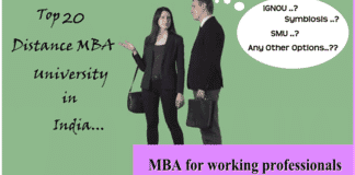 Top Distance MBA Universities