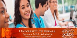 Kerala University Distance MBA