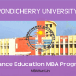 Pondicherry University Distance Education MBA