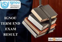 IGNOU Result 2019 - IGNOU Term End Result Dec.'18