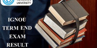 IGNOU Results 2019 - IGNOU Term End Result Dec.'18