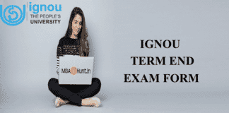 IGNOU exam form