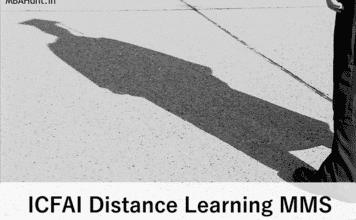 ICFAI MMS Program - ICFAI Distance MMS