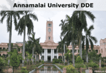 Annamalai University DDE